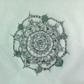 Mandala my niece drew for me